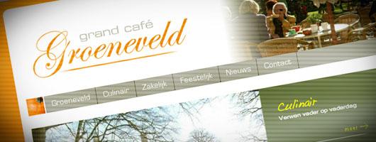 Website kasteel Groeneveld